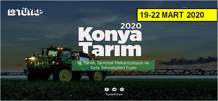 2020 Konya Tarım Fuarı